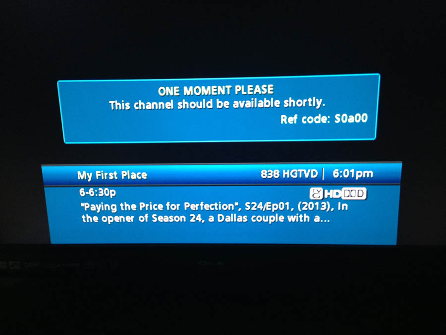 comcast error ref code S0a00