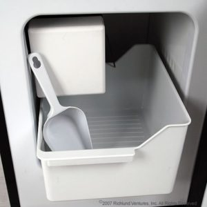 edgestar ice maker inside photo